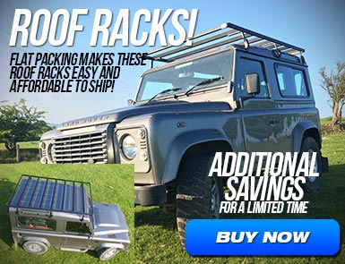 Roof Racks - Flat Packing Makes These Roof Racks Easy and Affordable To Ship!