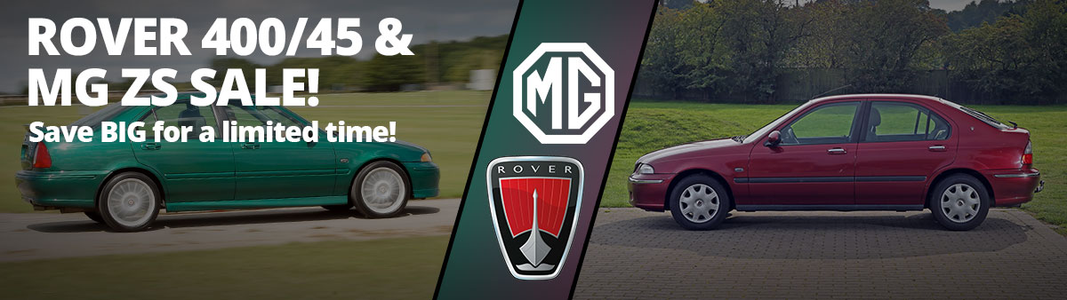 Rover 400 and MG ZS Sale