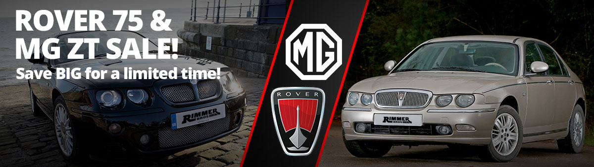 Rover 75 and MG ZT Sale
