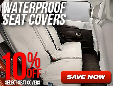 10% off select Seat Covers
