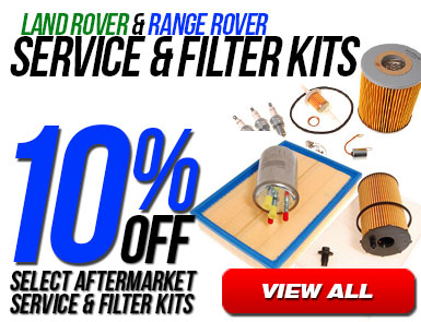 10% Off select aftermarket service and filter kits