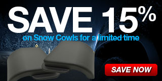 15% Off Select Snow Cowls