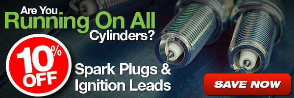 10% Off Spark Plugs and Ignition Leads