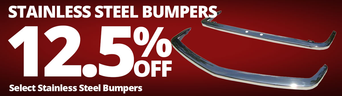 Stainless Steel Bumpers