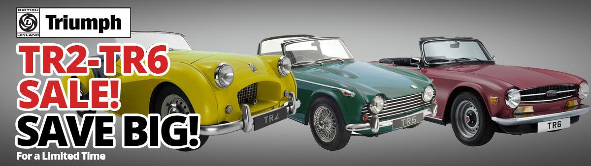 Triumph TR2-TR6 Sale Ends Today