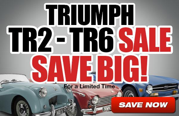 Triumph TR2-TR6 Sale