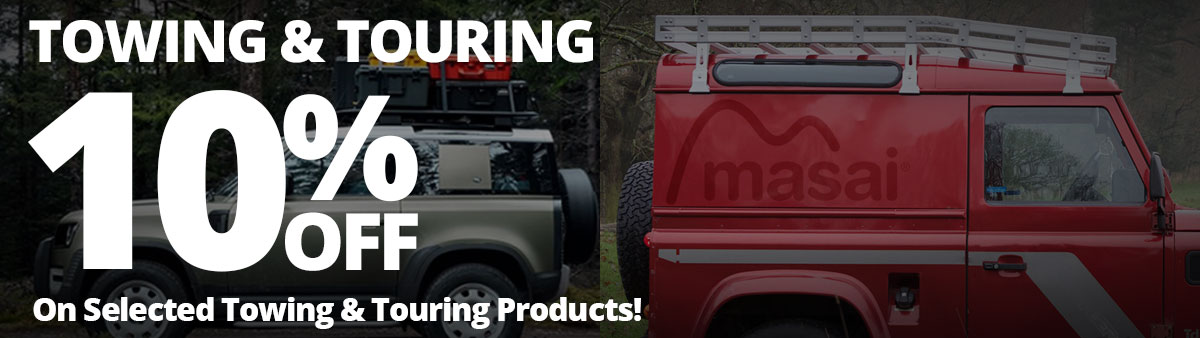 10% Off Towing & Touring