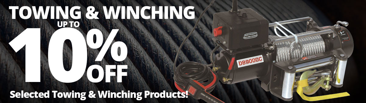 Towing and Winching Sale
