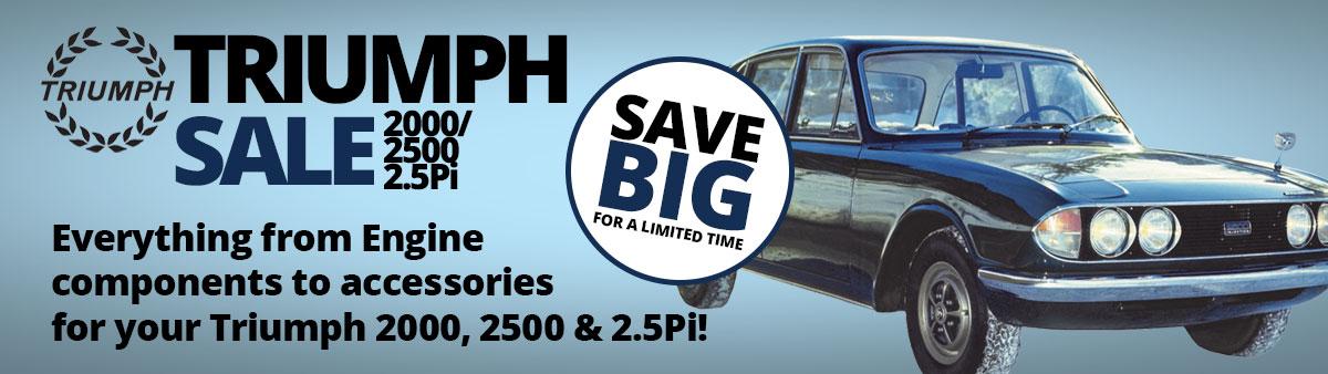Triumph 2000 Sale