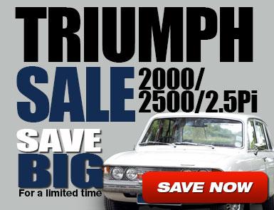 Triumph Sale 2000/2500/2.5Pi