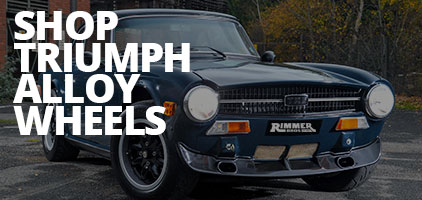 Triumph Alloy Wheels