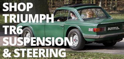 Triumph TR6 Suspension & Steering Improvements