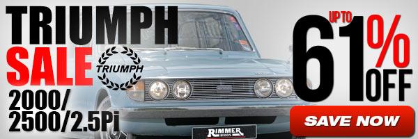 Triumph Sale - 2000/2500/2.5Pi