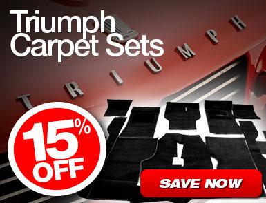 10% Off Triumph Carpet Sets