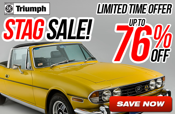 Triumph Stag Sale - Up to 76% Off