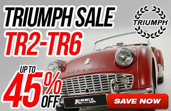 Triumph TR2-TR6 Sale - Up to 45% Off
