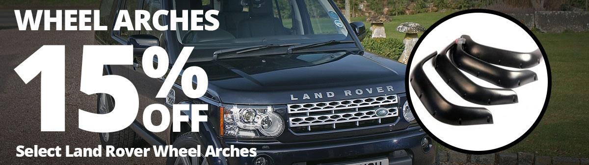 Land Rover Wheel Arches