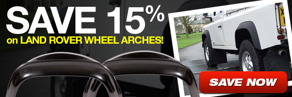 Save 15% on select Wheel Arches