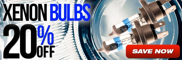 Xenon Bulbs - 20% Off