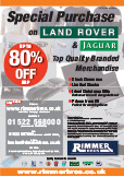 Land Rover and Jaguar Gear