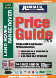Land Rover Price Guide 2016