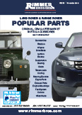 Land Rover and Range Rover Popular Parts
