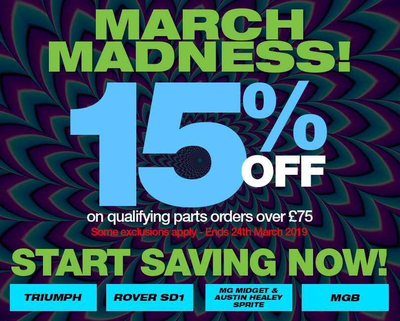 March Madness 15% Off - some exclusions apply
