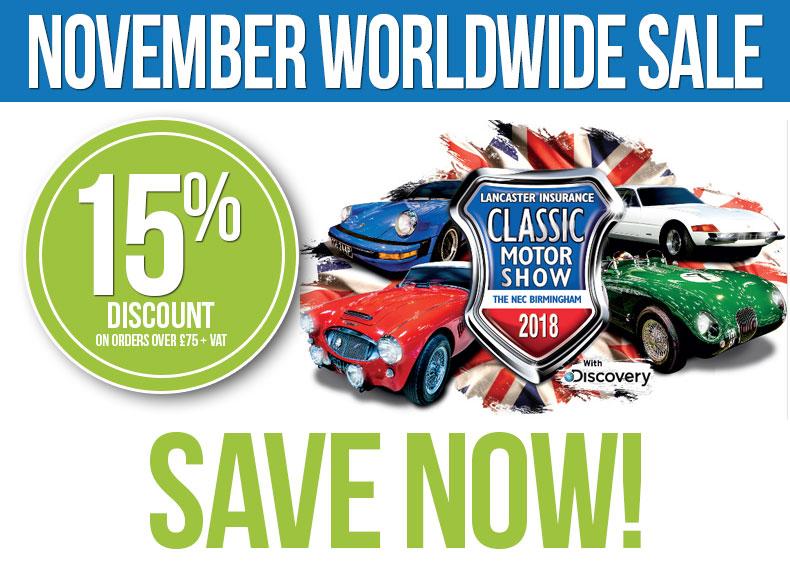 November Worldwide Sale