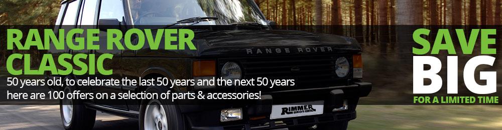 Range Rover Classic 50th Anniversary Sale