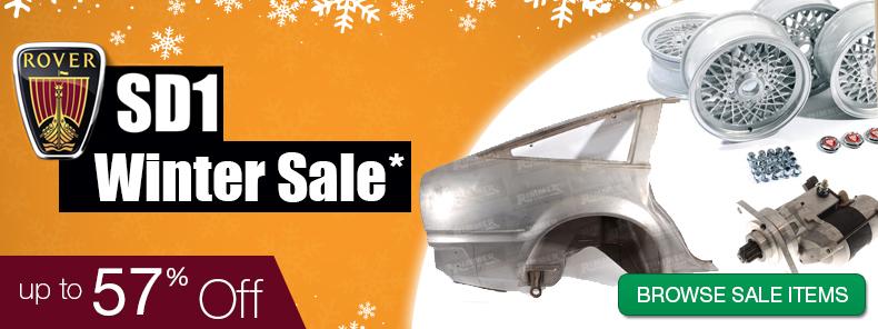 Rover SD1 Winter Sale