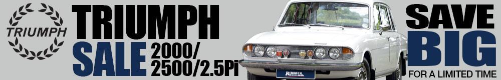 Triumph 2000/2500/2.5 Pi Sale