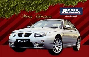 MG Rover Christmas