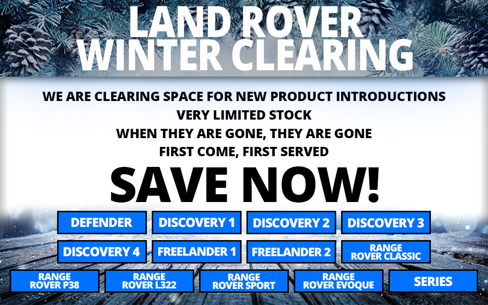 Land Rover Winter Clearing