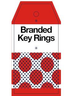 Branded Key Rings
