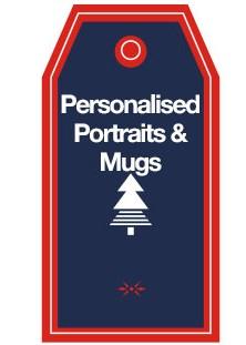 Personalised Portraits & Mugs