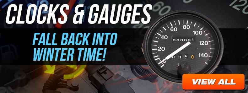 Clocks and Gauges