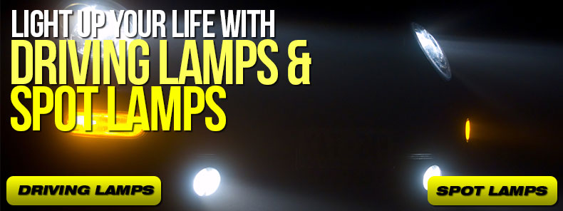 Driving and Spot Lamps