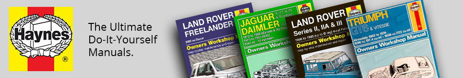 Haynes - The ultimate Do It Yourself Manuals