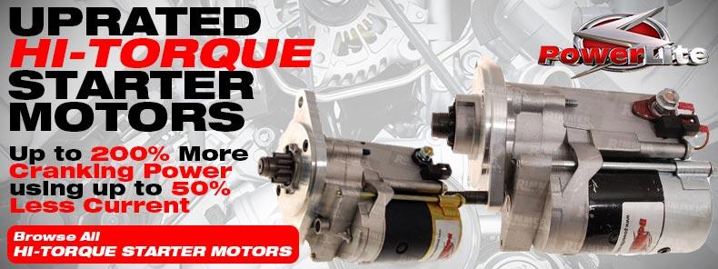 Uprated Hi-Torque Starter Motors