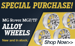 Orignal MG Rover Alloy Wheels