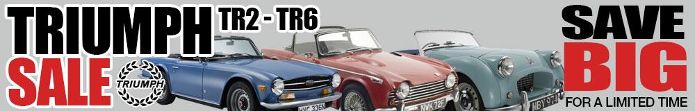 TR2-TR6 Sale