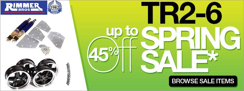 TR2-6 Spring Sale