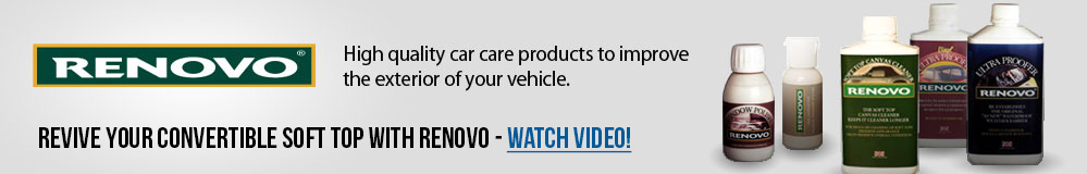 High quality car care products to improve the exterior of your vehicle.