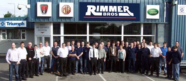rimmer brothers triumph car parts mg rover car parts and autos post. Black Bedroom Furniture Sets. Home Design Ideas