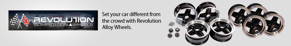 Set your car different from the crowd with Revolution Alloy Wheels.