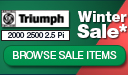 Triumph 2000 | 2500 Winter Sale